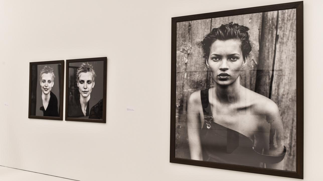 Ausstellungsfoto Pressekonferenz zu Ausstellung, Peter Lindbergh,  From Fashion to Reality,  in der Kunsthalle München am 11.04.2017 Foto: BrauerPhotos/ S.Brauer fuer die Kunsthalle Muenchen