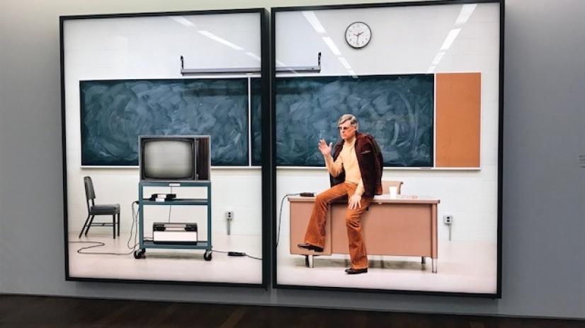 Rodney Graham als Professor vergangener Zeiten